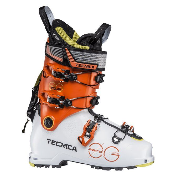 Scarponi sci Tecnica Zero G Tour white-ultra orange