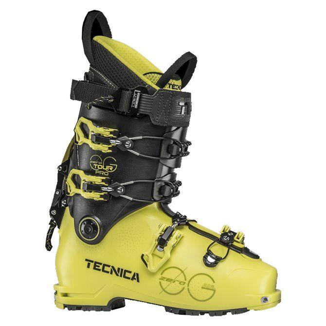 Scarponi sci Tecnica Zero G Tour Pro bright yellow-black