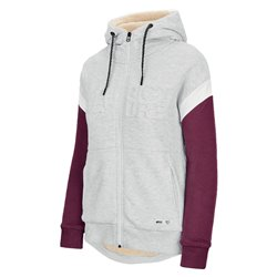 Freeride Picture Basement sweatshirt with hood and men's zip