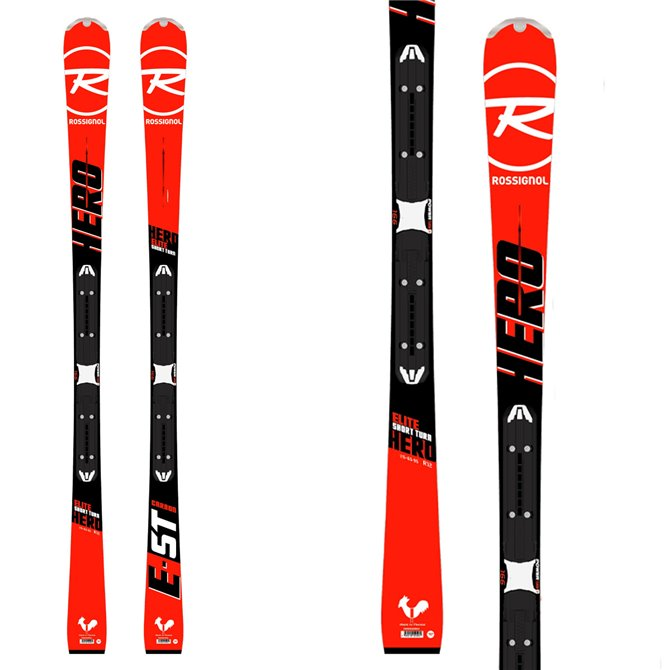 Ski Rossignol Hero Elite Short Turn (Xpr2) + bindings Xpress W11