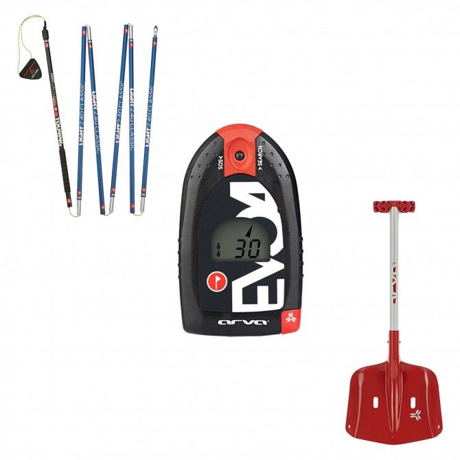 Kit Arva Access shovel + Light 2.4 probe + Evo 4