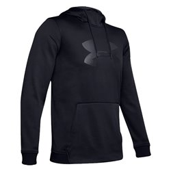 Sudadera con capucha estampada con el logotipo grande Armor Fleece® para hombre