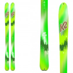 K2 ski Wayback 88 Ltd fantasy green