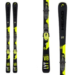 Ski Head V-Shape V8 SW with Prd 11 GW Brake 78 bindings
