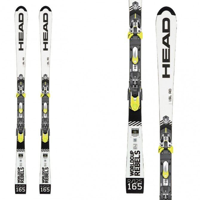Ski Head WC Rebels iSL RD Pro with bindings Freeflex Evo 16X Brake 85