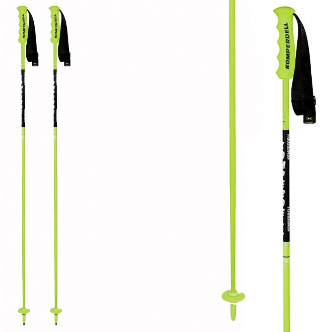 Ski poles Komperdell NationalTeam Carbon