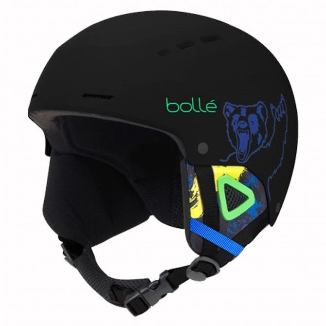 Casco Sci Bolle Quiz MATTE BLACK BEAR