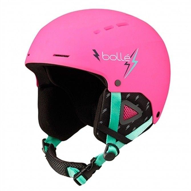 Casque de ski Bolle Quiz Visor junior rose