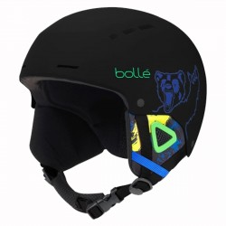 Ski Helmet Bolle Quiz Visor junior black
