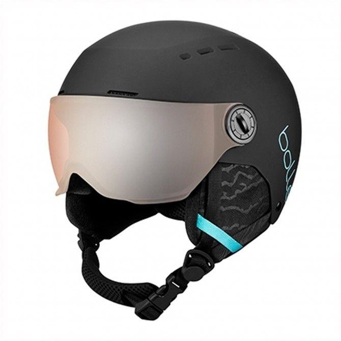 Bolle Quiz Visor junior ski helmet black