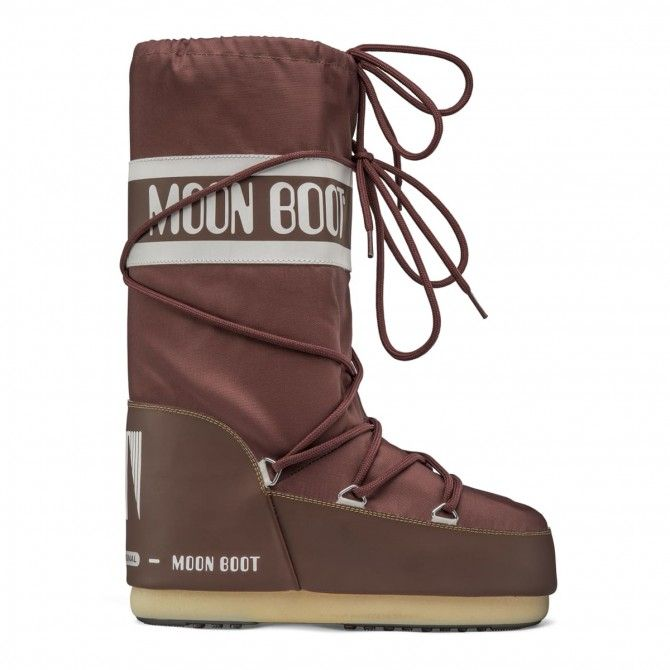 Après-ski Moon Boot Nylon Rust woman