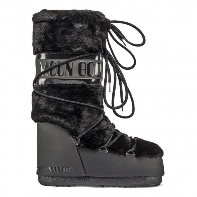 Après-ski Moon Boot Classic Fau fur woman