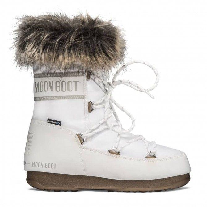 Après-ski Moon Boot Monaco Wp low woman