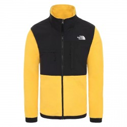 The north Face Denali jacket man yellow