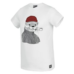 T-shirt Picture Lazy white