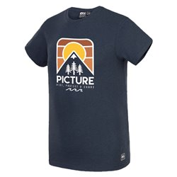 T-shirt Picture Lanfon dark blue