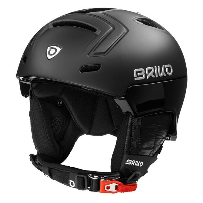 Casco sci Briko Stromboli matt black yellow f