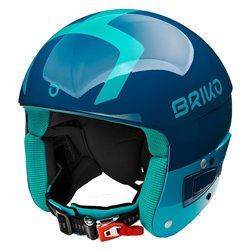 Casco sci Briko Vulcano Fis 6.8 shiny orange fluo black