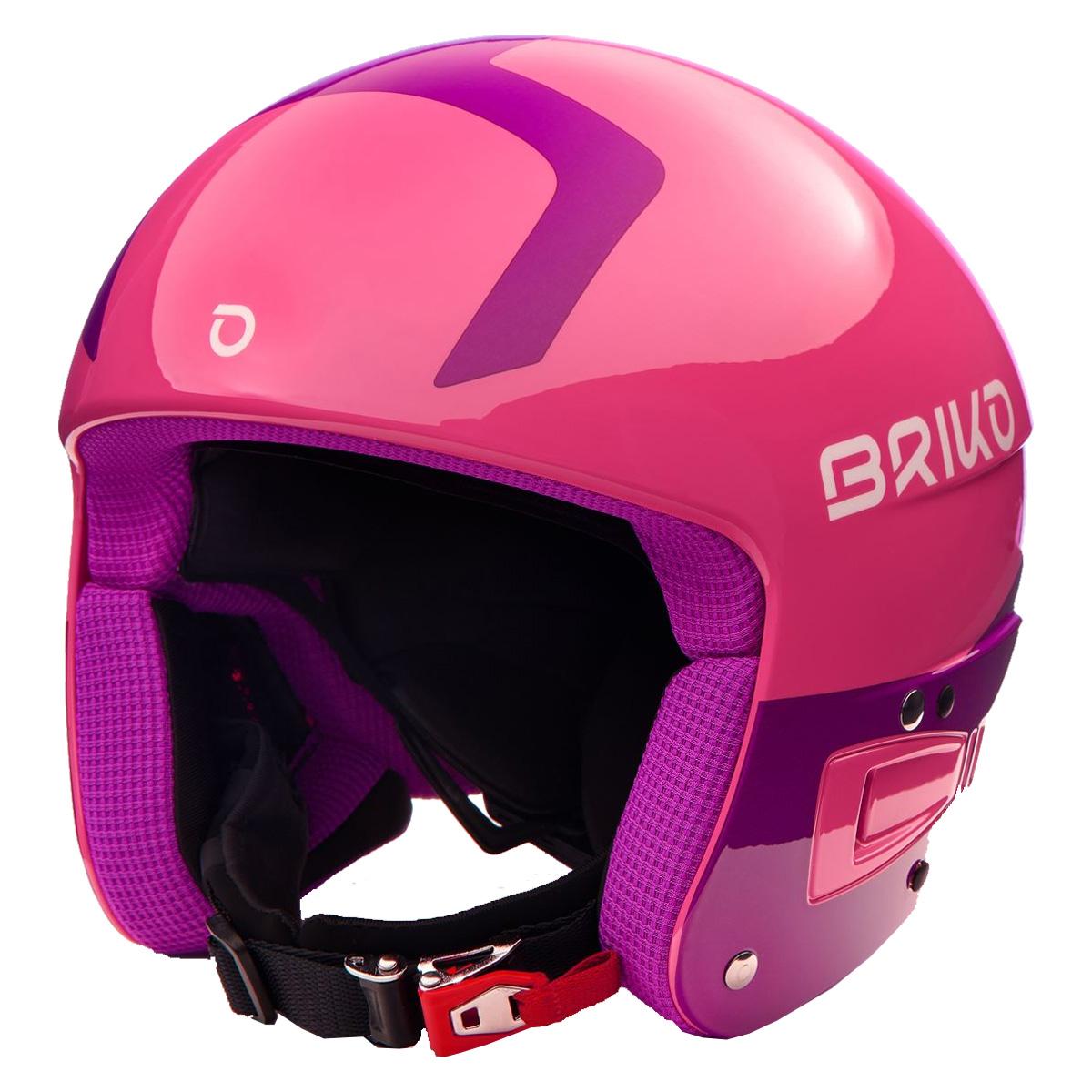 Casco sci Briko Vulcano Fis 6.8 (Colore: shiny pink violet, Taglia: S/M)