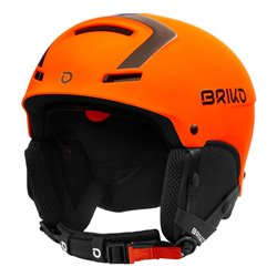Casco Sci Briko FAITO FLUID INSIDE MATT WHITE ORANGE FL
