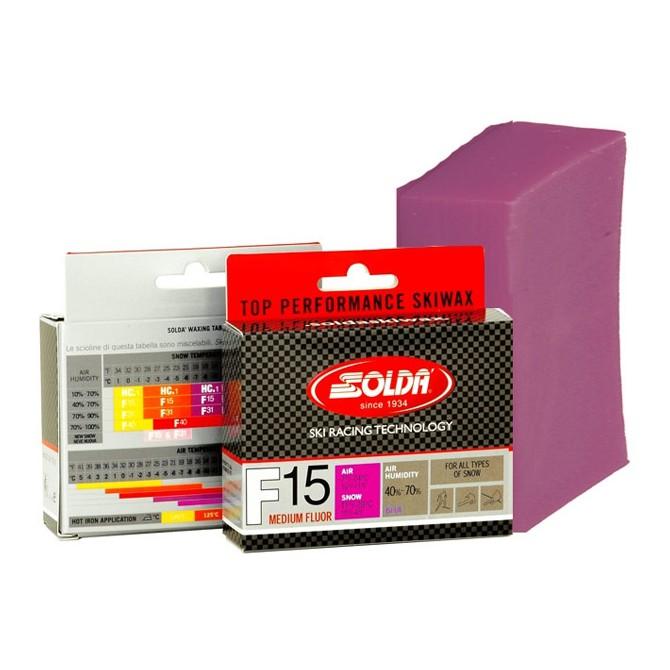 Sciolina Soldà F15 Medium Fluor 60 gr. pink