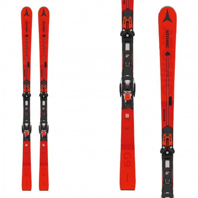 Skis Atomic Redster G9 Afi avec liaisons X 12 TL GW