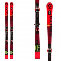 Volkl Racetiger GS PRO ski with Xcell 12 bindings