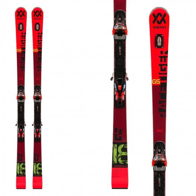 Volkl Racetiger GS PRO Ski avec fixations Xcell 12