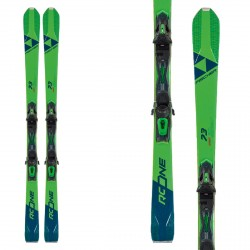 Fischer RC One 73 esquís con ataques Rs 11