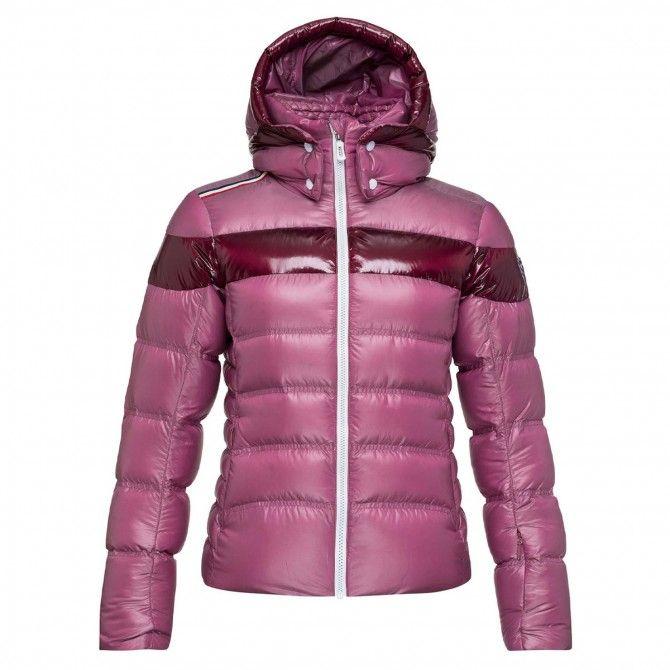 Chaqueta de esquí Rossignol Hiver Metalic para mujer