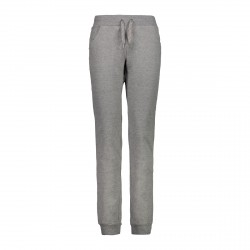 Pantalón de traje de mujer cmp gris con cordón