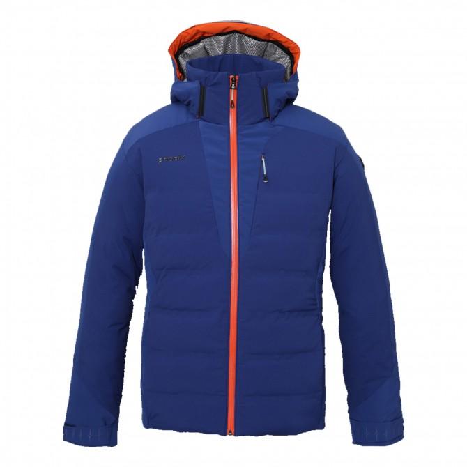 Piumino sci Phenix Norway Alpine Team panna-arancio