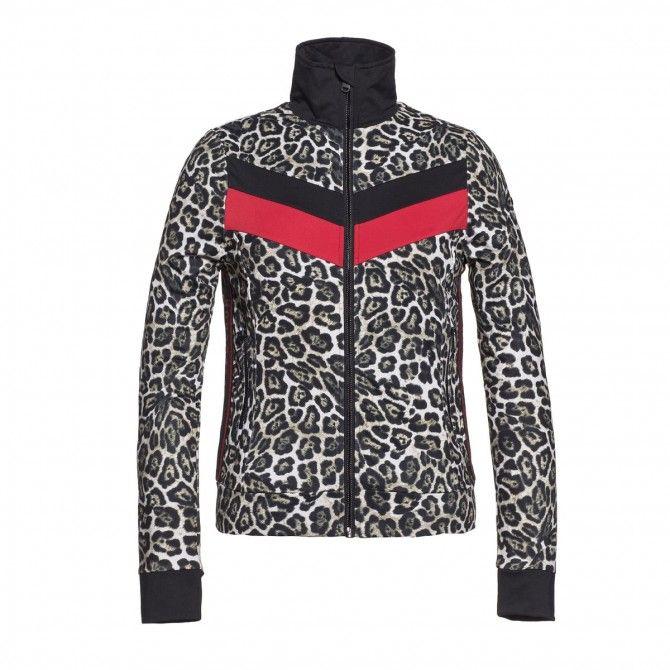 Gilet Goldbergh Bera leopard