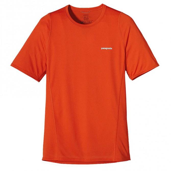 t-shirt running Patagonia Fore Uomo