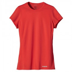 t-shirt running Patagonia Fore Donna