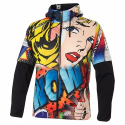 Sweat-shirt Energiapura Pop Art avec capuche