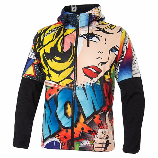 Sweat-shirt Energiapura Pop Art