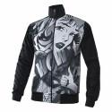 Energiapura Pop sweatshirt anthracite with full zip