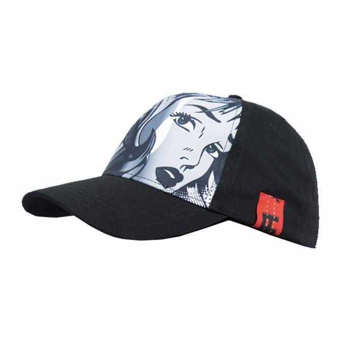 Cappello Energiapura Pop art nero