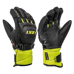Ski Gloves Leki Race Coach Flex S GTX Jr