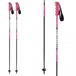 Bastones de esquí Komperdell Pink Champ Carbon Anna mujer