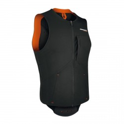 Gilet avec protections Komperdell Pro orange man