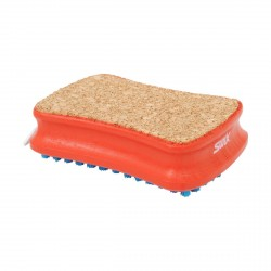 Brush rect combi cork/nylon