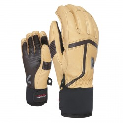 Guanti sci Level Off piste beige