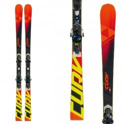 Ski Fischer RC4 The Curv CB avec fixations RC4 Z13 FF