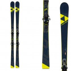 Ski Fischer RC4 WC RC RT avec fixations RC4 Z12 PR