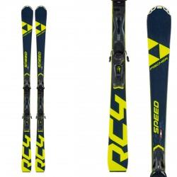 Ski Fischer RC4 Speed Allride avec fixations RC4 Z11 PR