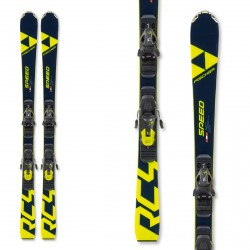 Ski Fischer RC4 Speed Jr Rp with RC4 Z9 bindings