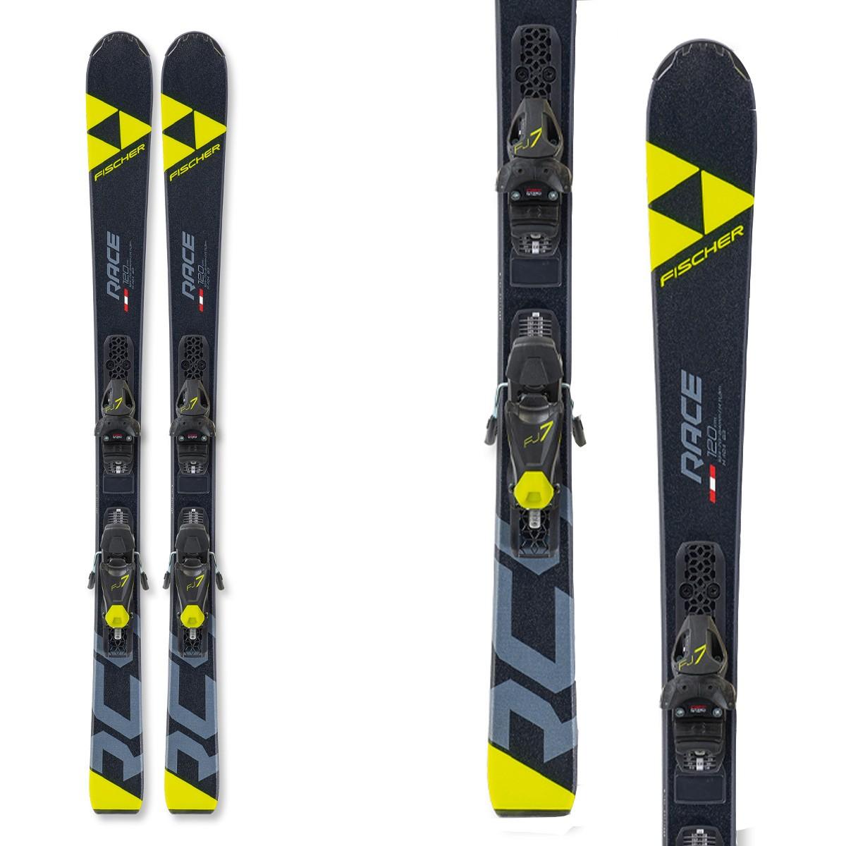 Fischer RC4 WC SL JR Ski (Colore: nero, Taglia: 135)