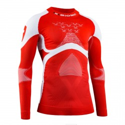 Maillot X-Bionic Energy Accumulator 4.0 Patriot Swizzeland